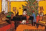 Rippl-Rónai József Karácsony című festménye